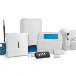 Neo wireless alarm system with outdoor PIR with camera